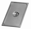 Johnson-Rose 52300 Steam Table Pan Cover, 2/3 Size, Recessed Handle, Fits Standard And Anti-Jam Pans, 18-8 Stainless Steel, NSF 12/Inner Ctn 18-8 S/S 0.7 Mm Gauge