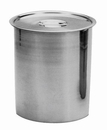 Johnson-Rose 5411 Bain-Marie Pot Cover Only, Fits 1-1/4 Qt. Cap., 18-8 Stainless Steel Handle: 1.2Mm