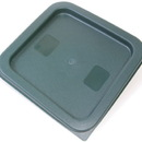 Johnson-Rose 56000 Lid Only, Green Polyethylene, Fits 2 Quart And 4 Quart Clear Or White Polycaronate Food Containers.