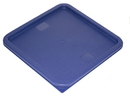 Johnson-Rose 56101 Lid Only, Blue Polyethylene, Fits 12 Quart, 18 Quart, And 22 Quart Clear Or White Polycarbonate Food Containers.