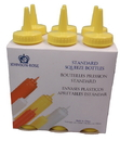 Johnson-Rose 68286 Squeeze Bottle Pack - 8 Oz Yellow, Six (6) Per Pack. Plastic