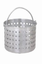 Johnson-Rose 69120 Steamer Basket, Fits 20 Qt. Pan, 8-1/4 D, Wire Loop Handle, 1.6 Gauge Aluminum