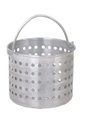 Johnson-Rose 69124 Steamer Basket, Fits 24 Qt. Pan, 10-1/4 D, Wire Loop Handle, 1.6 Gauge Aluminum Wire Loop Handle