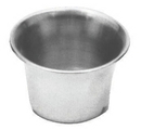 Johnson-Rose 7244 Oyster/Sauce Cup, 2-1/2 Oz, Stainless Steel (#7234) Sold In Dozens.