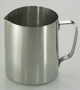 Johnson-Rose 7380 Frothing Pitcher, 18-8 Stainless Steel (Pitcher 0.8Mm, Handle: 1.8 Mm), 20 Oz.