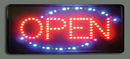 Update International 80100 LED Sign - Open w/ Dust Cover,