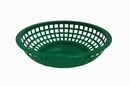 Johnson-Rose 80752 Bread/Serving Basket, 8, Round, Plastic, Red