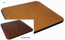 Johnson-Rose 91126 Table Top, Reversible (Oak/Walnut), 24 X 48