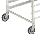 Focus Foodservice FBRCST5S Replacement Casters for Aluminum Bakery Racks