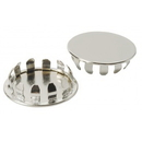 Focus Foodservice FCSC Chrome plated shelf caps (4 per pkg)