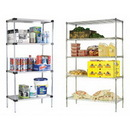 Focus Foodservice FF1848SSS 18X48 Stainless Steel Solid Shelf