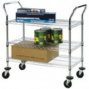 Focus Foodservice FFC24363CH 3 shelf wire cart 24