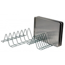 Focus Foodservice FFTM184GN Wire tray storage module, 4 tray cap