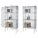 Focus Foodservice FSEC243663GN Security Cages Only [Chromate Finish or Green Epoxy]