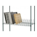 Focus Foodservice FTS2448815GN Wire Tray Drying Shelf,24X48,15 Tray,Grn