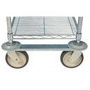 Focus Foodservice FTST5 5' Track Set, Durable 304 Stainless Steel