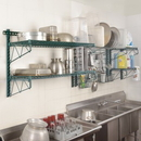Focus Foodservice FWMTDRGN EZ Wall; Tray Drying Rack, GN