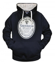 Guinness Official Merchandise G7006 GUINNESS Label Pullover Hoodie