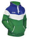 Guinness Official Merchandise GA2001 Croker Adult GAA Fleece Panel Hoodie