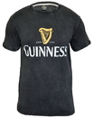 Guinness Official Merchandise GC004 Distressed Trademark Label Tee