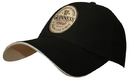 Guinness Official Merchandise GN9100 Guinness Black English Label Cap