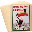 Guinness Official Merchandise GNS2171 Guinness Heritage Coasters Set of 20