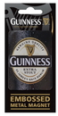 Guinness Official Merchandise GNS2507 Metal Embossed Magnet - ST.JIAMES' GATE DUBLIN