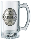 Guinness Official Merchandise GNS2650 Guinness Label Tankard Pewter Logo
