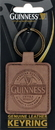 Guinness Official Merchandise GNS5078 Guinness Brown Leather Keyring