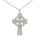 Guinness Official Merchandise PE4010 Celtic Double Sided Cross And Chain