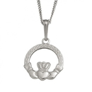 Guinness Official Merchandise PE4015 Claddagh Knotwork Pendant And Chain