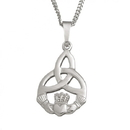 Guinness Official Merchandise PE4055 Small Claddagh Trinity With Chain