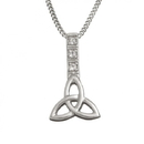 Guinness Official Merchandise PE4066 Celtic Trinity Knot Design With A Chain