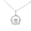 Guinness Official Merchandise PE4075 Claddagh Pendant And Chain