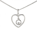 Guinness Official Merchandise PE4081 Claddagh Heart Pendant And Chain