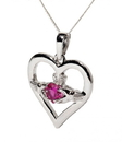 Guinness Official Merchandise PE4092 July Ruby Birthstone Claddagh