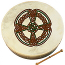 Walton's Irish Music WM2302 18 Knotwork Cross Bodhran