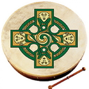 "Walton's Irish Music WM2500 Waltons 18"" Gallen Cross Bodhran"