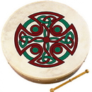 "Walton's Irish Music WM2506 Waltons 18"" Carew Cross Bodhran"