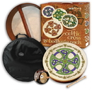 "Walton's Irish Music WMP2503 18"" Bronsa Cross Bodhran Pack"