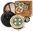 "Walton's Irish Music WMP2524 15"" Brosna Cross Bodhran Pack"