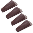 Muka 4 Packs Rubber Door Stop, Door Wedge for Home Office, Multi Surface Door Stopper