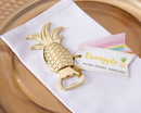 Kate Aspen 11277NA Gold Pineapple Bottle Opener