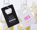 Kate Aspen 18079WT-BD Personalized Credit Card Bottle Opener - Birthday (Available in Black or White)