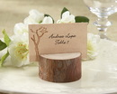 Kate Aspen 22025NA Rustic Real-Wood Place Card/Photo Holder (Set of 4)