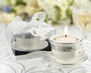 Kate Aspen Teacups and Tealights Miniature Porcelain Tealight Holders