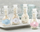 Kate Aspen 27080NA-RL Mini Glass Favor Bottle with Swing Top - Religious (Set of 12) (Available Personalized)