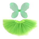 TopTie Girls Fairy Costume Halloween Costumes, Butterfly Wings and Tutu Dress