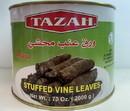 Tazah 0716L Stuffed Grape Leaves Syrian 6/4.4 Lb
