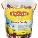 Tazah 0932 Chewy Candy-Fruit 12/750 G